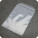 Klappenbeutel, wiederverschließbar, PE-Folie, transparent