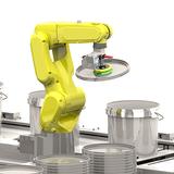 Roboter für den Deckelverschluss