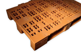 Special pallets for boxes