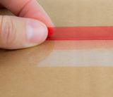 Resealable Finger Lift tape