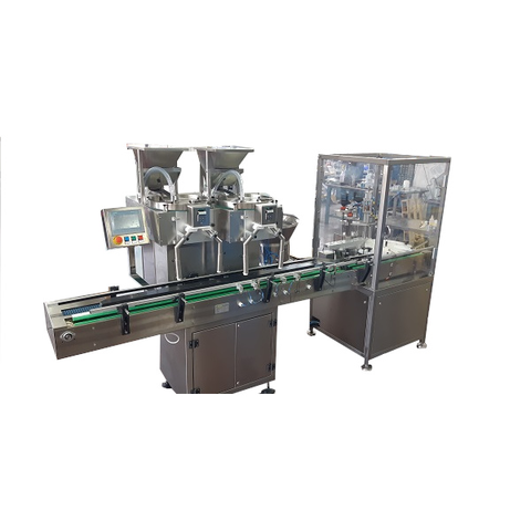 ACL 3000 D Automatic line with double counting and capping units