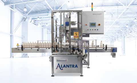 Shemesh Automation Alantra capping machine