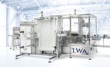 Shemesh Automation Universal Wraparound Labelling Machine
