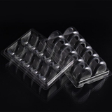 Clear food grade PET blister macaroons packaging box