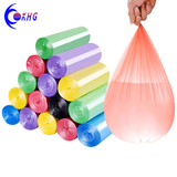 Custom printed heavy duty eco-friendly plastic rubbish bags