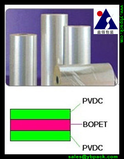 Both sides PVDC coated PET