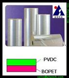PVDC coated BOPET film