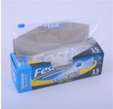 Transparent Sealable Food Storage Bag Waterproof Zip Lock Plastic Packaging Bag