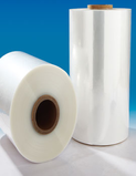 Single wound high speed packing shrink film