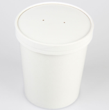 PLA Compostable Soup Containers