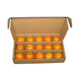 Corrugated fruit carton box