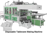 Automatic Virgin Pulp Molding Equipment Tableware Thermoforming Machine