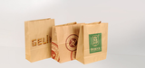 Square Bottom Paper Bags Without Handles