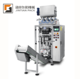 JT 420 4K 4 lanes liquid vertical packing machine