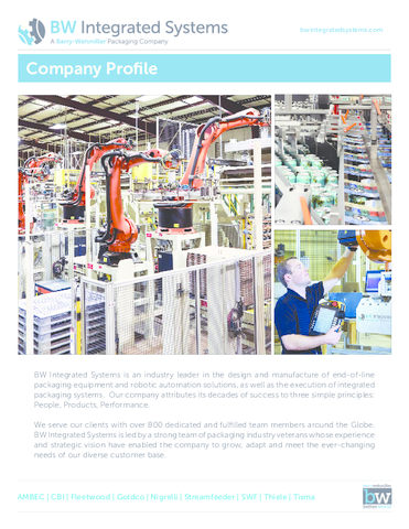 BW Integrated Systems Company Profile