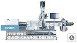 Coperion Food Processing & Equipment - Hygienic Quick Change Design